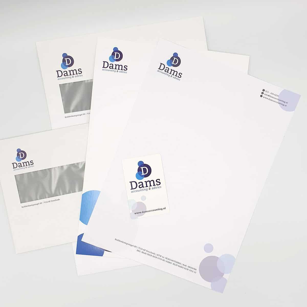 Huisstijl-ontwerp-Dams-Accounting-burobedenkt