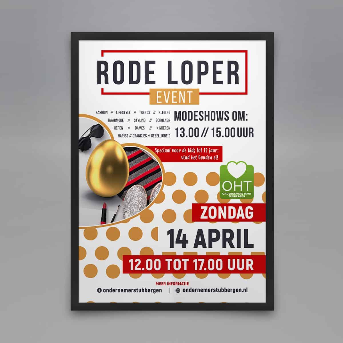 A0-poster-Rode-Loper-Event-burobedenkt