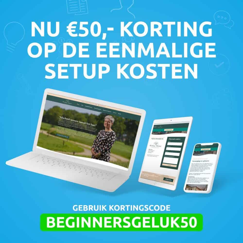 Facebook-posts-beginnersgeluk-50-euro-korting