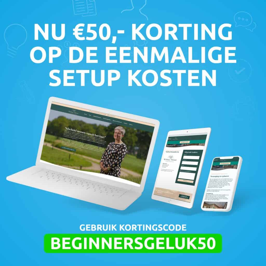 Facebook-posts-beginnersgeluk-50-euro-korting