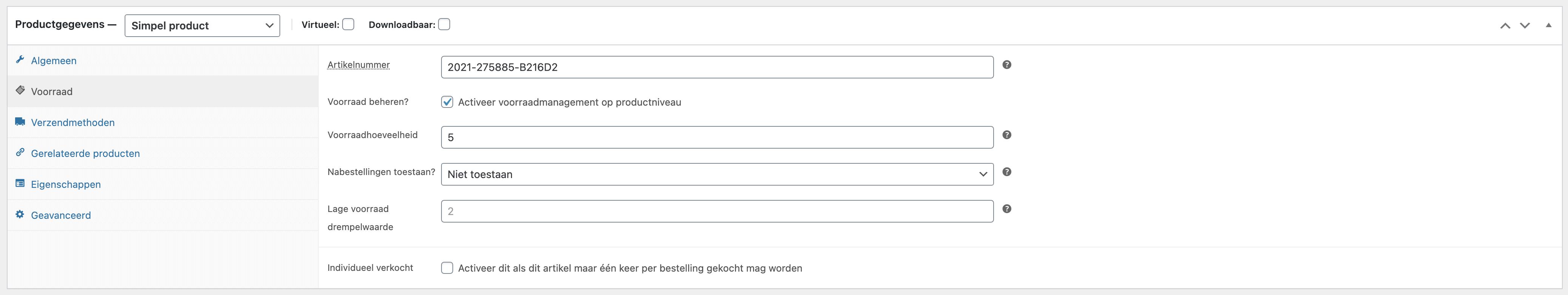 woocommerce-simple-product-toevoegen-productgegevens-voorraad