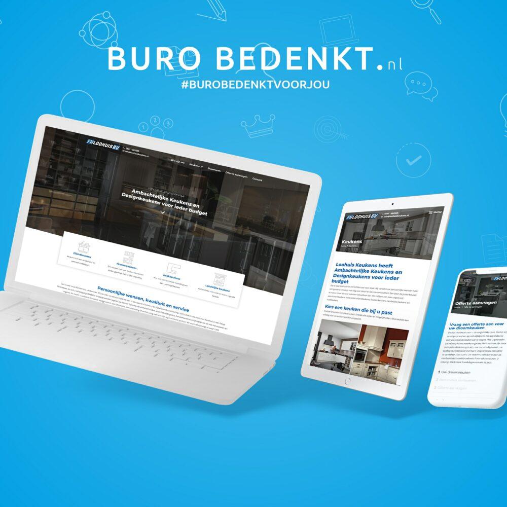 Website-mockup-loohuis-keukens-bv