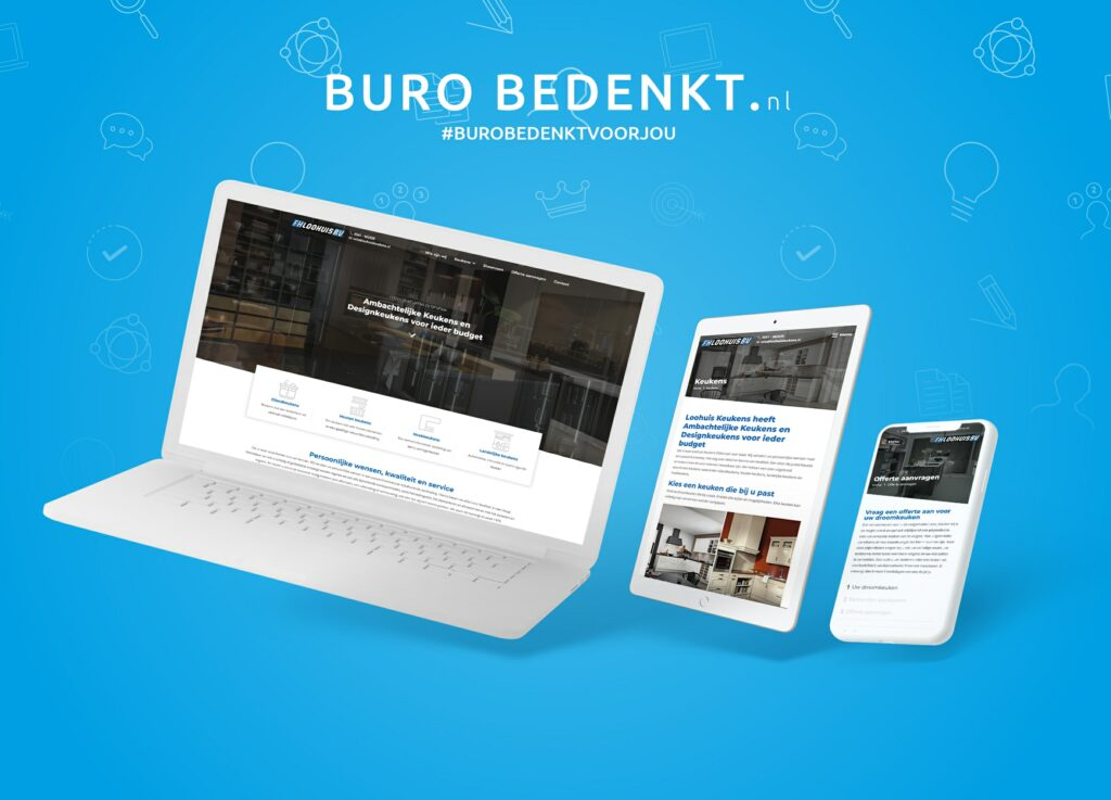 Website-mockup-loohuis-keukens-bv