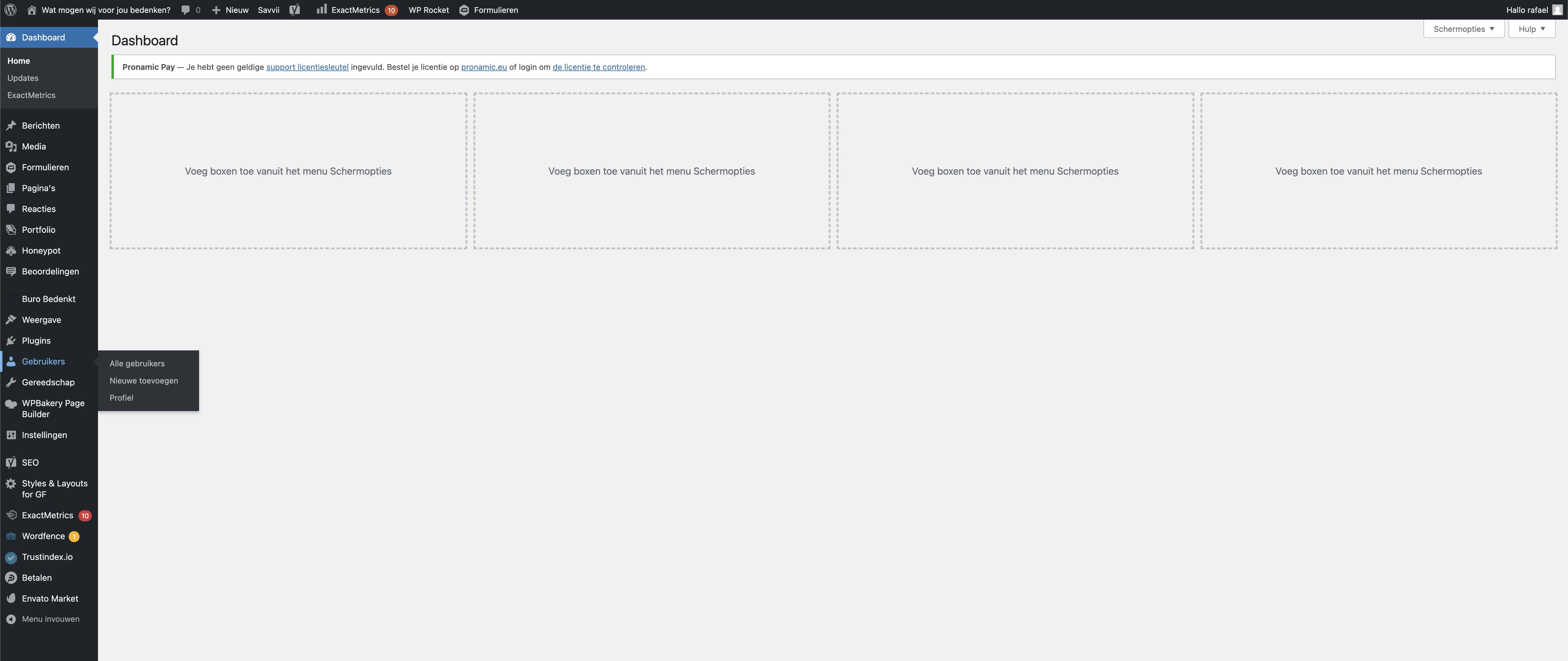 Buro Bedenkt kennisbank - Gebruiker toevoegen aan je WordPress website
